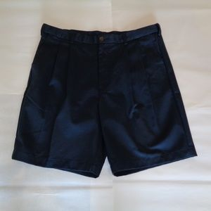 Roundtree & Yorke EXPANDER WAIST Navy Shorts